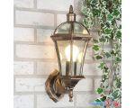 Уличный фонарь Elektrostandard Capella (черное золото)