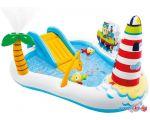 Надувной бассейн Intex Веселая рыбалка 57162 (218х188х99)