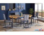 Обеденный стол Halmar Sorbus (дуб медовый/графит)