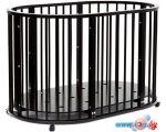Кроватка-трансформер Bambini М.01.10.14 (темный орех)