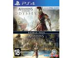 Игра Assassins Creed: Истоки + Assassins Creed: Одиссея для PlayStation 4