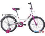 Детский велосипед Novatrack Urban 20 (белый/розовый, 2019)