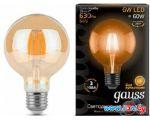 Светодиодная лампа Gauss E27 6Вт 2400К [105802006]