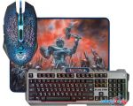 Клавиатура + мышь с ковриком Defender Killing Storm MKP-013L RU