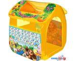 Игровая палатка Играем вместе Чебурашка с азбукой GFA-0055-R