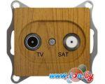 Розетка телевизионная Schneider Electric Glossa GSL000597 (дуб)