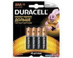Батарейки DURACELL LR03/MN2400 AAA 4 шт.