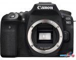 Зеркальный фотоаппарат Canon EOS 90D Body (черный) в интернет магазине