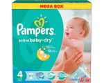Подгузники Pampers Active Baby-Dry 4 Maxi (132 шт)