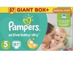 Подгузники Pampers Active Baby-Dry 5 Junior (87 шт)