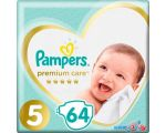 Подгузники Pampers Premium Care 5 Junior (64 шт)