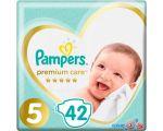 Подгузники Pampers Premium Care 5 Junior (42 шт)