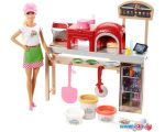 Кукла Barbie Pizza Chef Doll and Playset FHR09