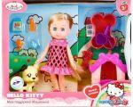 Кукла Карапуз Hello Kitty Машенька MARY63001-HK (розовый)