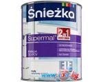 Эмаль Sniezka Supermal Эмаль для ПВХ 0.75 л (белый)
