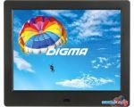 Цифровая фоторамка Digma PF-843 (черный)
