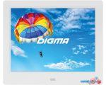 Цифровая фоторамка Digma PF-843 (белый)