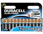 Батарейки DURACELL AA Ultrapower 12 шт.