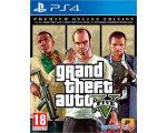 Игра Grand Theft Auto V. Premium Online Edition для PlayStation 4