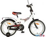 Детский велосипед Novatrack Turbo 16 2020 167TURBO.WT20 (белый/черный)