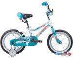 Детский велосипед Novatrack Novara 14 (белый/голубой, 2019) в интернет магазине