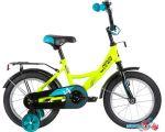 Детский велосипед Novatrack Vector 12 123VECTOR.GN20 (салатовый/черный, 2020) цена