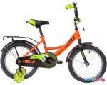 Детский велосипед Novatrack Vector 16 163VECTOR.OR20 (оранжевый/черный, 2020)