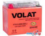 Мотоциклетный аккумулятор VOLAT YTX12-BS(iGEL) (12 А·ч)