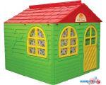 Игровой домик Doloni-Toys 02550?3 (зеленый/красный)