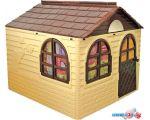 Игровой домик Doloni-Toys 02550?2 (бежевый/коричневый)
