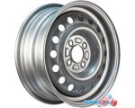 Штампованные диски TREBL 6515 14x5.5 4x100мм DIA 56.6мм ET 39мм S