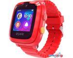 Умные часы Elari KidPhone 4G (красный)