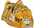 Cпортивный шлем STG MV7-Tiger XS (р. 44-48, желтый/черный)