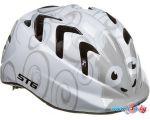 Cпортивный шлем STG Sheep XS (р. 44-48, серый/белый)