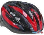 Cпортивный шлем STG HB13-A L (р. 58-61, черный/красный)