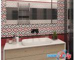 Керамическая плитка Gracia Ceramica Molle Decor 01 300x900 (Red) цена
