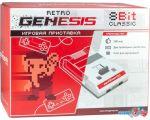 Игровая приставка Retro Genesis 8 Bit Classic (2 геймпада, 300 игр)