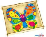 Мозаика/пазл WoodLand Toys Цветок и бабочка 067302 в Бресте