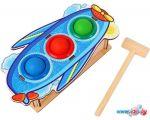 Молоточек WoodLand Toys Самолет 3 отверстия 115203