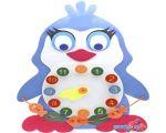 Развивающая игрушка Smile Decor Коврик с часиками Ф018