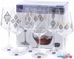 Набор бокалов для вина Bohemia Crystal Sandra 40728/S1387/350