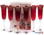 Набор бокалов для шампанского Bohemia Crystal Angela 40600/437577/190 в рассрочку