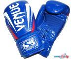 Перчатки для единоборств Zez ZTQ-117-8 (синий)