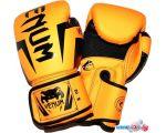 Перчатки для единоборств Zez ZTQ-116-6 (желтый)