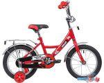 Детский велосипед Novatrack Urban 14 (красный/черный, 2019) в интернет магазине