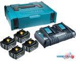 Аккумулятор с зарядным устройством Makita BL1840 + DC18RD (18В/4.0 а*ч + 18В)