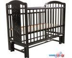 Классическая детская кроватка Pituso Noli Жирафик J-503 (венге)