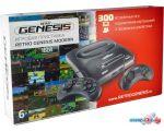 Игровая приставка Retro Genesis Modern (2 проводных геймпада, 300 игр)