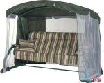 Садовые качели Удачная мебель Империя (зеленый 002)