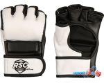 Перчатки для единоборств RSC Sport BF-MM-4006 L (белый/черный)